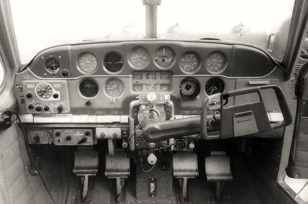 Although sparse by today's current production aircraft, the instrument panel of N3794N, a 1947 Model 35 Beechcraft Bonanza was equipped to fly in low visibility (IFR) conditions. <br /> <br /> The pilot, however was far from capable or experienced to fly on instruments or at night.