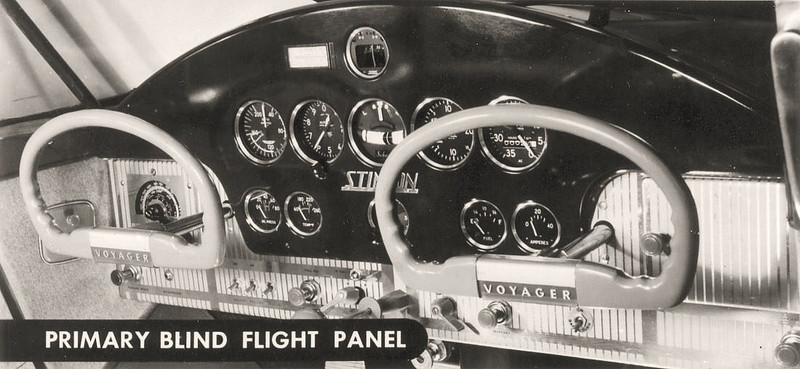It was reported that the instrument panel of NC6008M contained the primary flight instruments required for instrument flying.