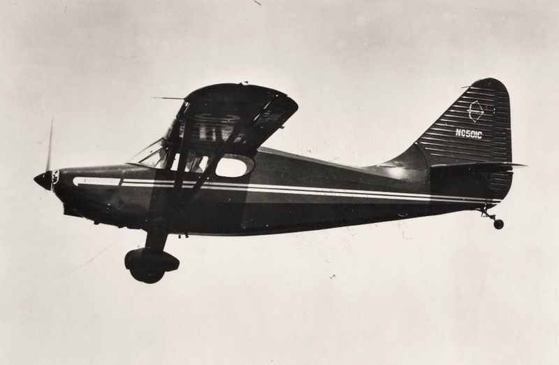The Stinson 108 Voyager was a popular general aviation aircraft produced by the American airplane company Consolidated Vultee, from immediately after World War II to 1950, when the company was bought by Piper Aircraft. Production continued for a few years under Piper. <br /> <br /> The fuselage was of fabric-covered steel tube. Aftermarket modifiers have obtained supplemental type certificates (STC) allowing conversion to an aluminum covering. Many different engines have been installed in the 108 by STC such as the Lycoming O-360, Franklin 220 220, and Continental O-470 O-470.