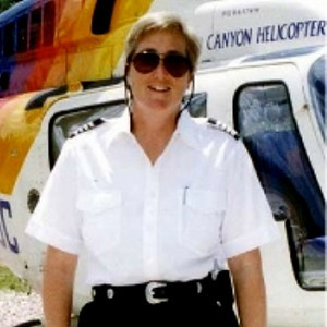 Pilot Maria Langer began flying