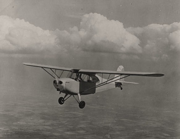 The Aeronca Champion, more commonly known as the Champ, is a single-engine, two-seat, fixed conventional gear airplane. <br /> <br /> Originally designed for flight training and personal use, it entered production in the United States in 1945.
