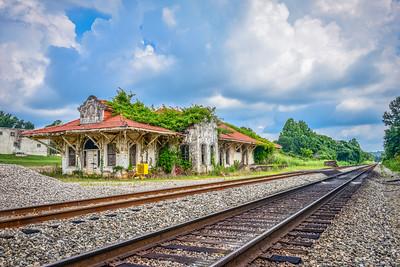 Old Train Depot - Wadley AL