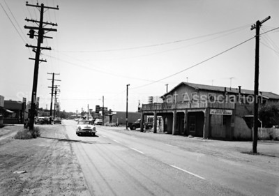 Middlefield Road in Mountain View, California 1960