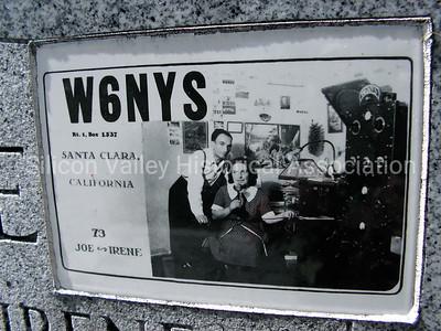 Ham Radio Operators W6NYS: Joseph & Irene Pierce - Santa Clara, California