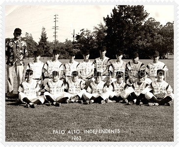 Palo Alto Independents 1963 baseball team - Shoppers World