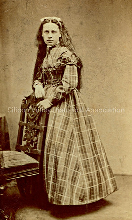 Mary Snell nee Baily photograph taken in San Francisco on March 13, 1869