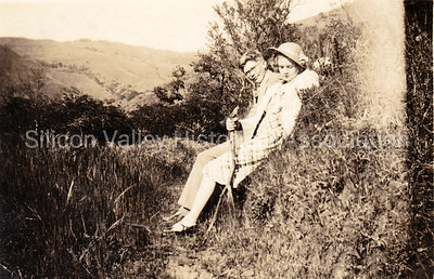 Harold and Dorothy Gardner at Alum Rock Park in San Jose - in Spring of 1935