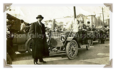 Santa Clara resident at the Panama–Pacific International Exposition in 1915