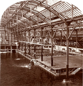 Sutro Baths in San Francisco, California in 1900