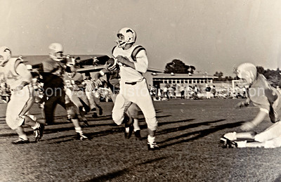 Jordan Junior High School Football in Palo Alto, California - 1964
