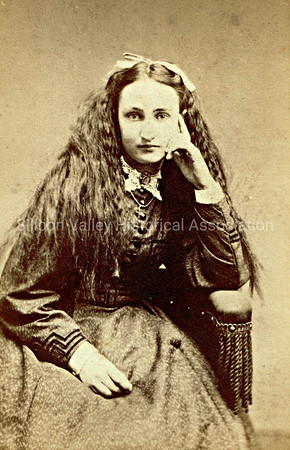 Charlotte Ogilvie 1862 photograph taken in San Francisco by G.D. Morse