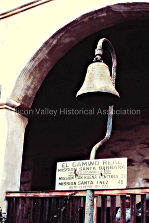 El Camino Real Bell Marker at the Old Mission Santa Barbara
