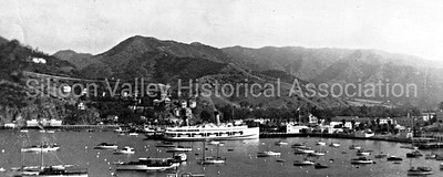 SS Catalina Ship at Santa Catalina Island, Circa 1942
