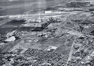 Overview of Moffett Field and surrounding communities in 1940