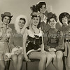Palo Alto women in costumes in 1964