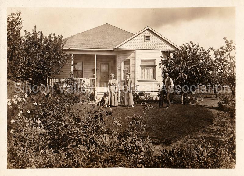 Santa Clara Valley country home c. 1918