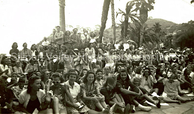 Santa Catalina Island California Group Shot from the 1940s