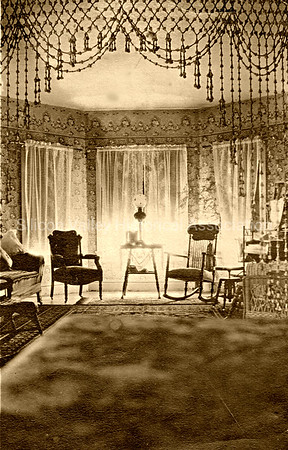 1907 Living Room in Santa Clara - Gardner Family