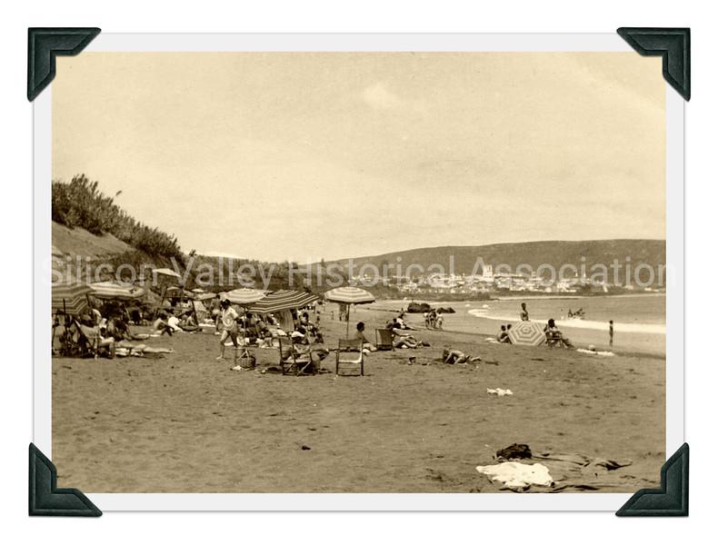 Santa Catalina Beach, California in the 1940s