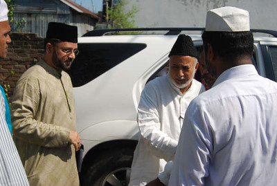 Arrival of National Ameer sb