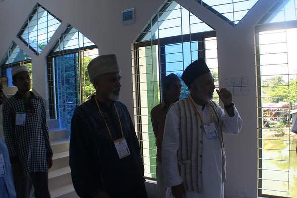 National Ameer Mobasher ur Rahman (L) & Ameer Dhaka Afzal Ahmad Kahdem (R)