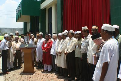 Amela members of Majlis Ansarullah Bangladesh waiting for formal inauguration