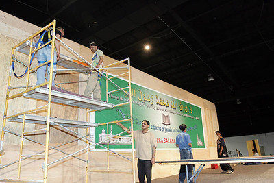 Jalsa Stage construction