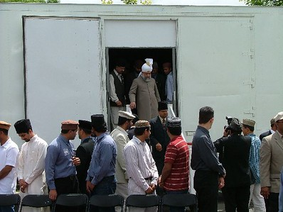 Huzur visited the MTA Trailer