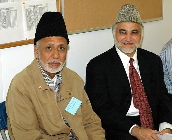 Jalal Sahib (L) with Dr. Hameedur Rehman