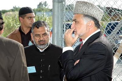 Shamshad sahib with Dr. Hameedullah Sahib