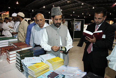 Book Stall Visitors
