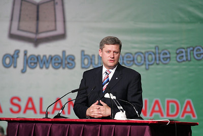 Conservative Party Leader Steven Harper