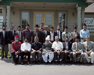 Group Photo with Ansarullah Majlis Amla USA