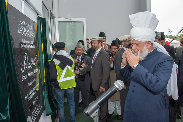 Inauguration of Baitur Rahman Mosque, Vancouver