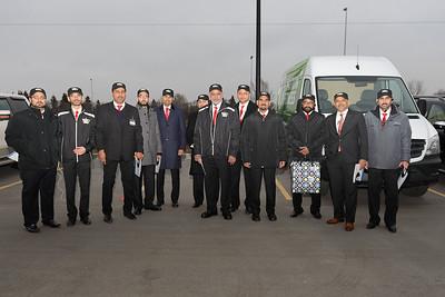 Arrival in Saskatoon