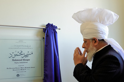 Inauguration Mahmood Mosque, Regina