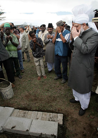 Dua at Nakuru Mosque site