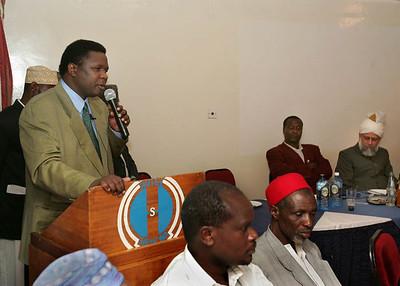 Eldoret official addresses audience