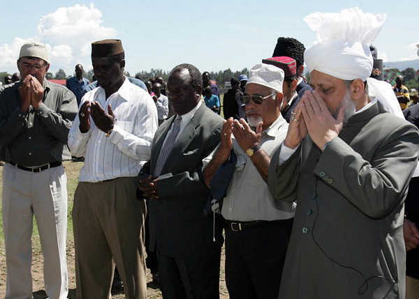 Dua at Naivasha Mosque foundation
