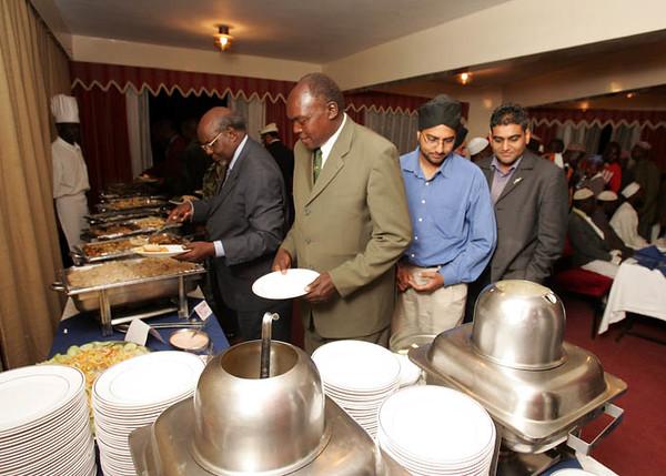 Guests at VIP Dinner Eldoret