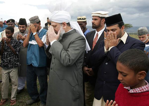 Dua at Nakuru Mosque Foundation