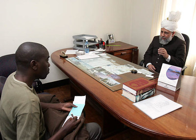 Interview with Newspaper in Kenya