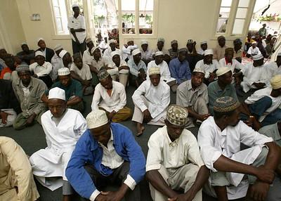 Inside Masjid Rehman Mombasa