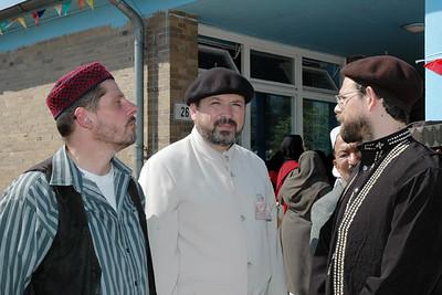 German Ahmadis waiting for Huzur