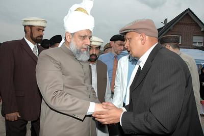 Huzur meets Sadar Jamaat