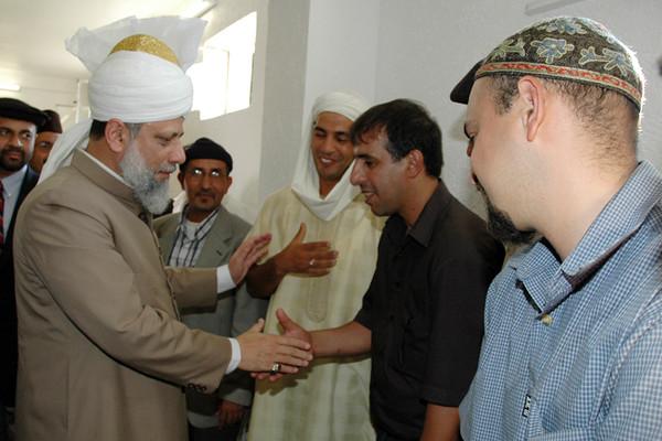 Arab Ahmadis meet Huzur