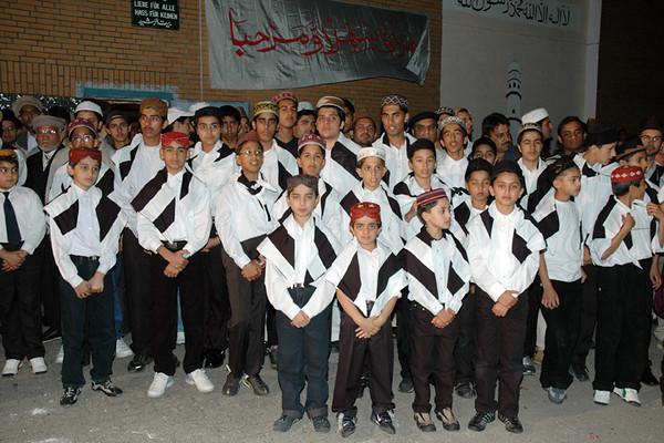Waqf-e-nau chidlren