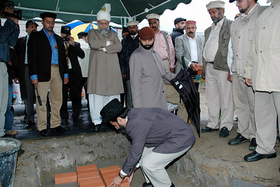 Syed Mahmood Ahmad Shah Sadar Khuddamul Ahmadiyya Pakistan
