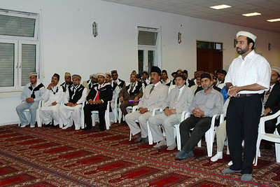 Meeting with Huzur