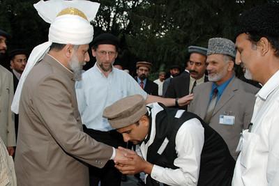 Huzur meets Regional Qaid